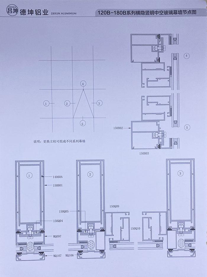 120B-180B系列幕墙